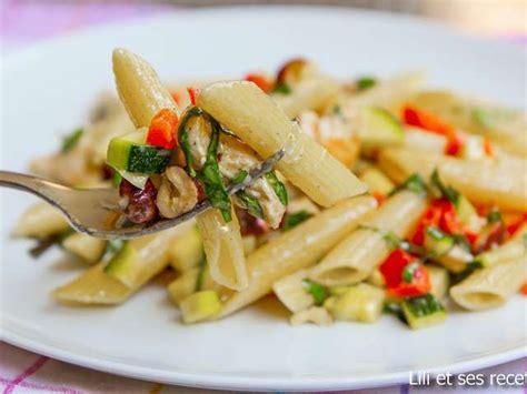 recette cuisine d ete recettes de légumes d 39 été et pâtes aux légumes
