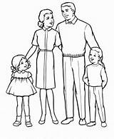 Parents Coloring Obeying sketch template