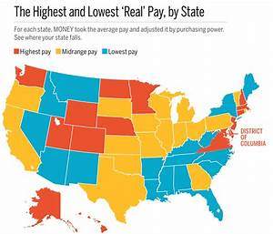 Average Income and Cost of Living in Every State | Money