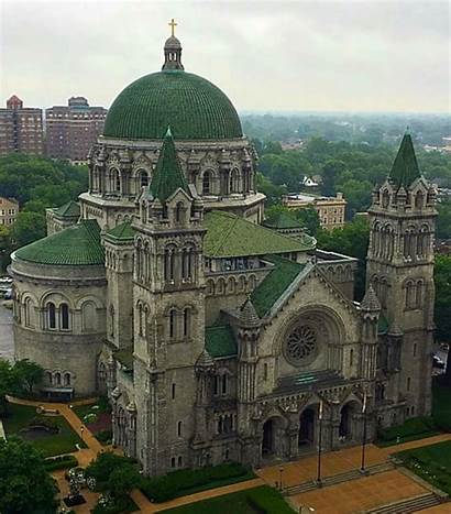 Cathedral Basilica Louis Saint Mo Mosaic Hemisphere