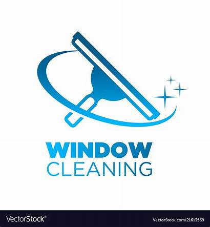 Cleaning Window Squeegee Washing Icon Windows Cleaner