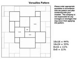 versaille pattern in mexican noce