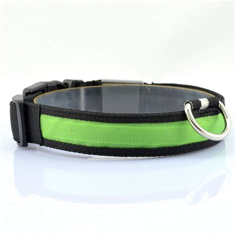 light for collar new led glow light belt leash pet light up