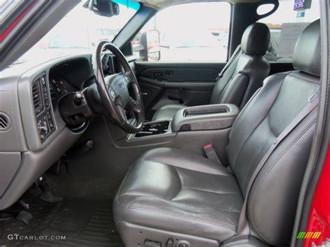 dark pewter interior  gmc sierra hd slt crew cab