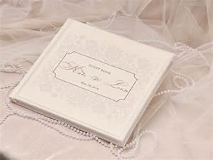 shabby chic wedding guest book idea modwedding With ideas for wedding book