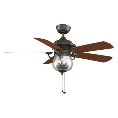 fanimation crestford 52 in outdoor ceiling fan with light