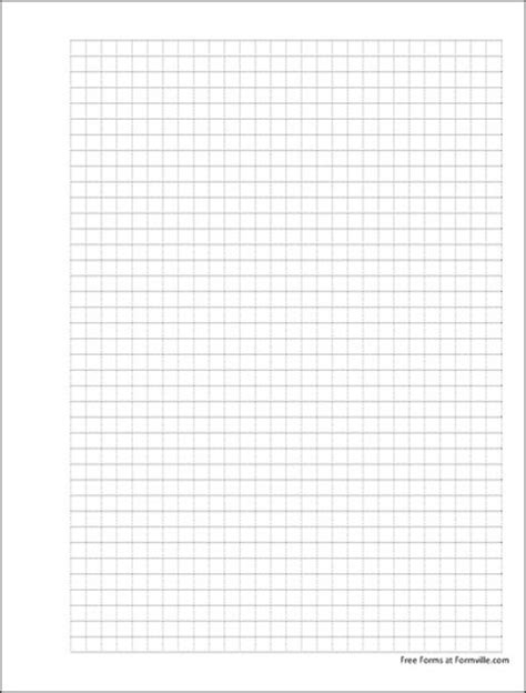 punchable graph paper  squares   dashed