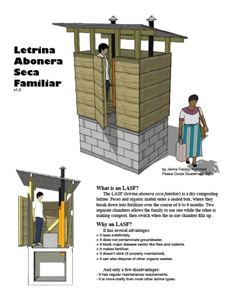 Jim And Emily's Guatemala » Blog Archive » Latrine Plans