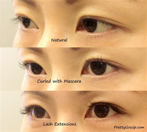 Ee  Eyelash Ee    Ee  Extensions Ee   Before And After P Os Pretty Gossip