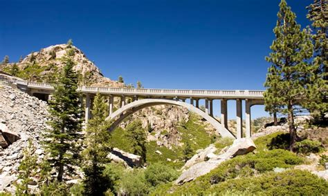 lake tahoe california scenic routes driving auto tours