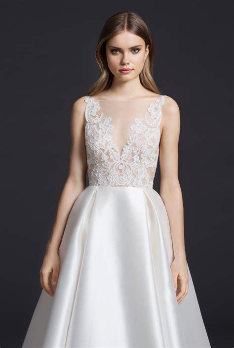 wedding gowns  lazaro arrive  stardust
