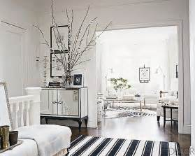 white home interiors ask casa decor black and white striped rug popsugar home