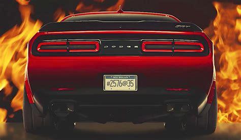 TFL News: 2018 Dodge Challenger SRT Demon Almost Revealed