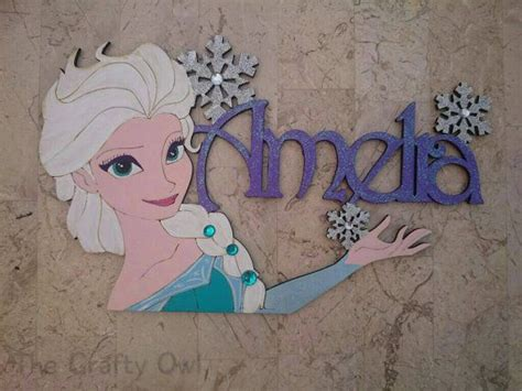 frozen bedroom door wall plaque elsa anna mickey mouse