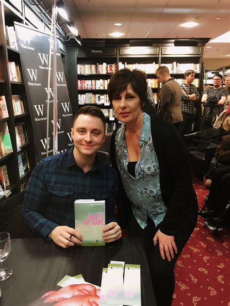 #booklaunch #marysthename  Ross Sayers, Waterstones