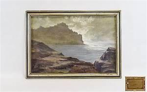 William Henry Innes (1905 - 1999) Oil On Canvas Gurnards Hea