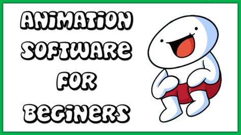 beginner animation software  windows mac