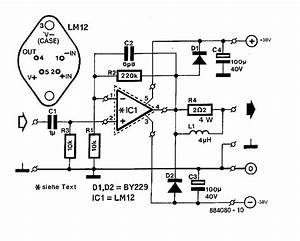 2 Way Speaker Crossover Schematics