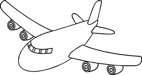 front airplane coloring page airplane coloring pages