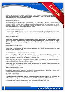 free printable business trust form generic With legal document preparation business for sale
