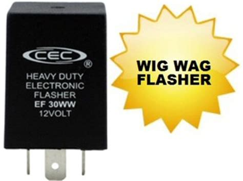 Alternating Electronic Flasher Wig Wag Loop