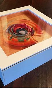 3D Painting: Layered Resin and Acrylic Paint   3d resin ...