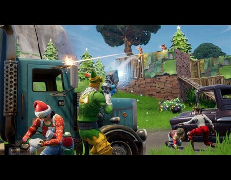fortnite update battle royale ps  xbox  winter