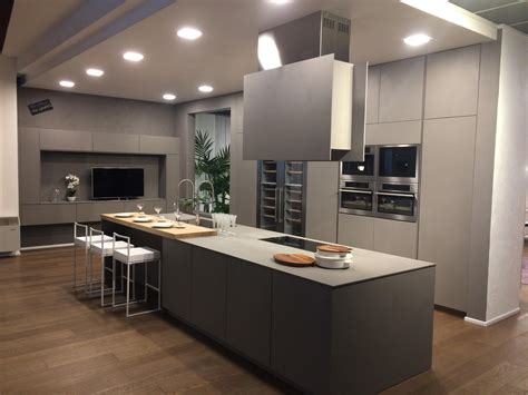 Cuisine Design Avec Ilot Central Cuisine Design 238 Lot Central Creathome24 Agencement De
