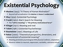 2011 Presentation - Current Research in Existential Psychology