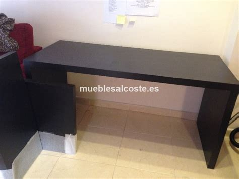mesa escritorio tipo malm ikea color wengue