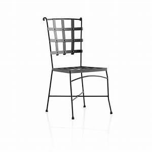 Chaise De Jardin En Fer : chaise de jardin en m tal genova 4 ~ Teatrodelosmanantiales.com Idées de Décoration