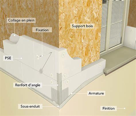 L'isolation extérieure sur une maison ossature bois MOB ...