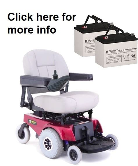 Jazzy Power Chair Battery Replacement by Pride Mobility Jazzy 1113 Ats Replacement Battery Sp12 35