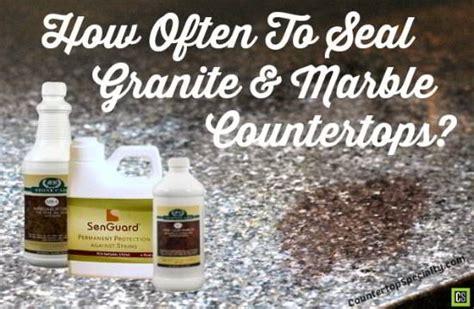 how to seal granite countertops the countertops corner