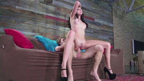 A Latina That Has A Tight Behind Is Spreading Her Legs On