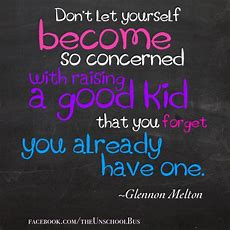 """don't Let Yourself Become So Concerned With Raising A"