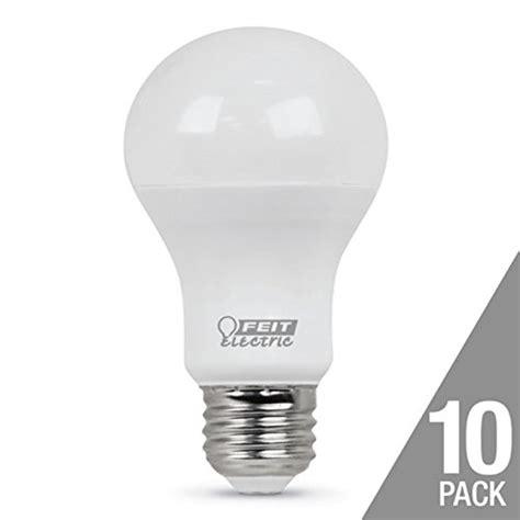 feit daylight 60 watt replacement 9 5 watts 10 pack 800 lumens