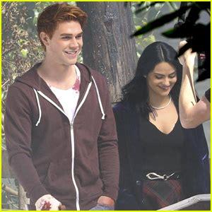k j apa and camila mendes kj apa camila mendes film first scenes for riverdale