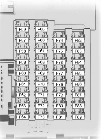 2012 Ford Fuse Box Diagram by Ford Escape 2012 2016 Fuse Box Diagram Carknowledge