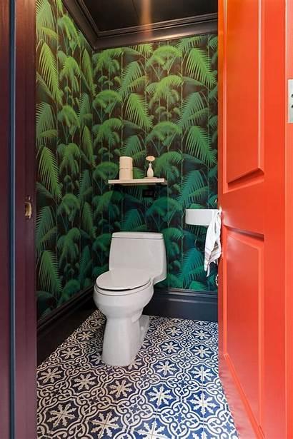 Bathrooms Sweeten Brownstone Bathroom Nazli Brooklyn Wallpapered