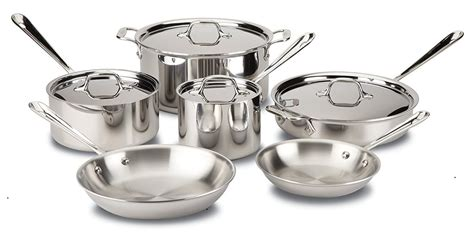 clad  cuisinart cookware stainless steel tri ply  multiclad pro