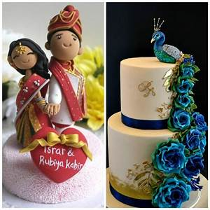 Cutesy Indian Wedding Cake Designs to Add a 'Desi' Touch