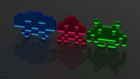 atari video games neon wallpapers hd desktop