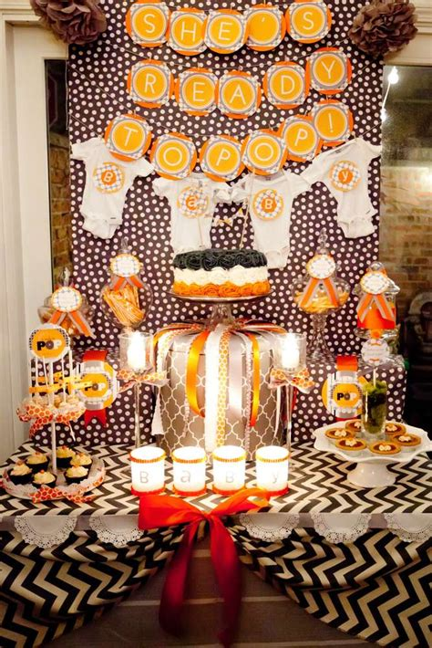 fall evening couples baby shower baby shower party ideas