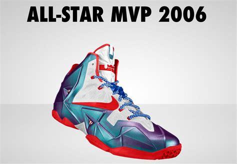 Nikeid Concept  Lebron 11 'allstar Mvp' 2006 Sole