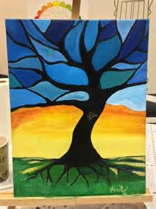 Sherpa Tree Stained Glass Art