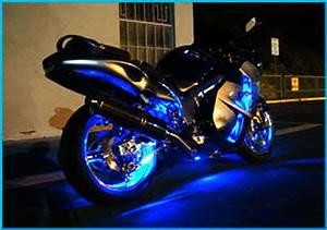 White 5000K 36 LED Motorcycle Lights Kit For Honda CBR