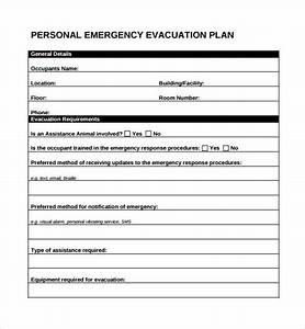 10 evacuation plan templates sample templates With personal safety plan template