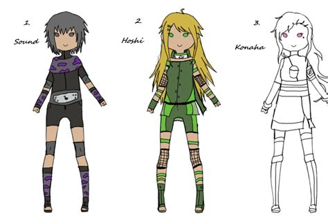 download anime batch naruto naruto adoptable girls batch 1 by shayface on deviantart