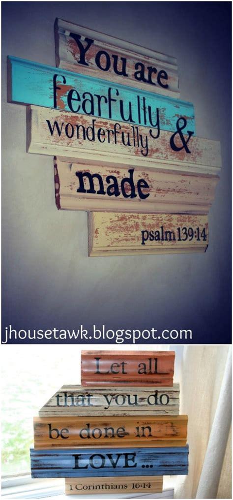 rustic charm home decor diy wood sign ideas